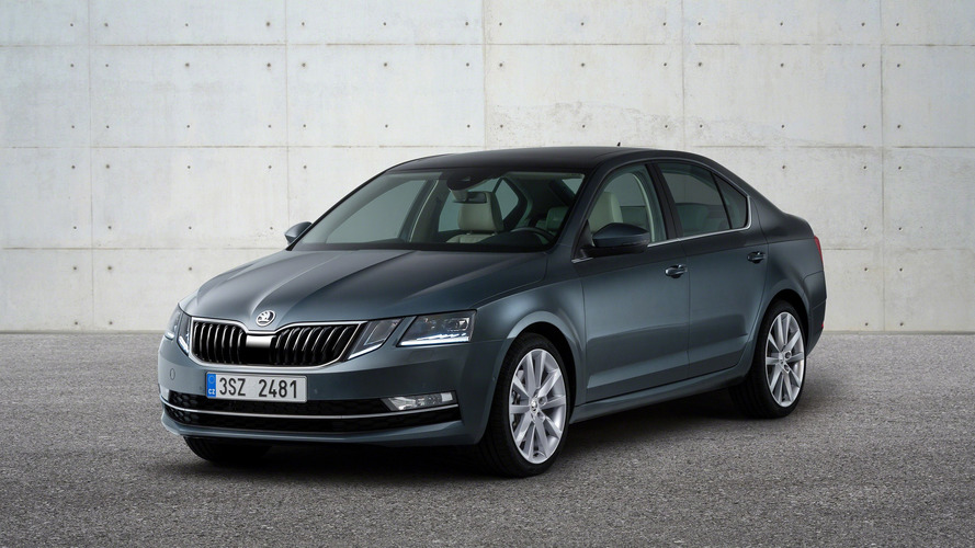 Skoda Octavia facelift arrives with split LED headlights