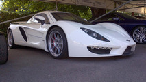 Corvette-powered Sin R1 supercar arrives at Goodwood FoS