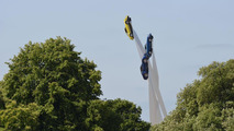 Porsche 911 sculpture at 2013 Goodwood Festival of Speed 11.7.2013