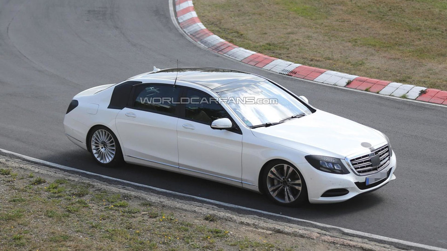 Mercedes S-Class Maybach comes into focus