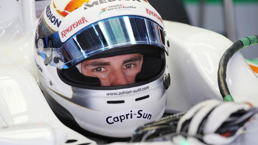Sutil plays down Sauber switch rumours