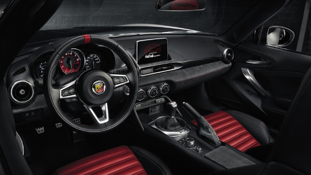 Abarth 124 Spider debuts in Geneva with 170 hp