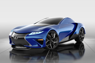 Lexus LF-LA Concept Turns the Insanity Up to Eleven