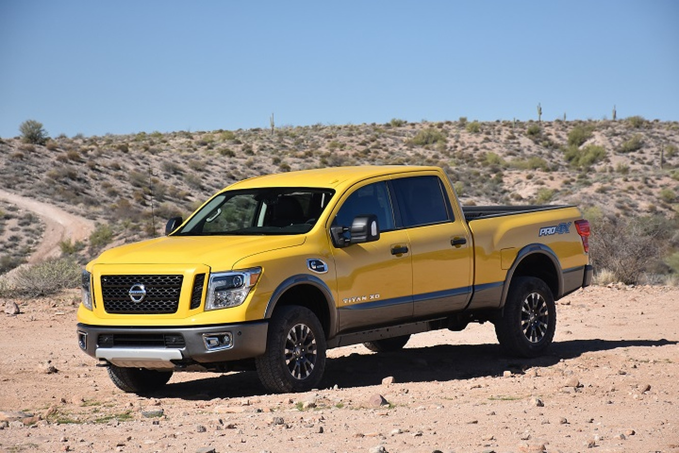 Is the 2016 Nissan Titan XD Just Right?