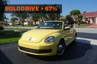 BoldDrive: 2013 Volkswagen Beetle Convertible 60s Edition
