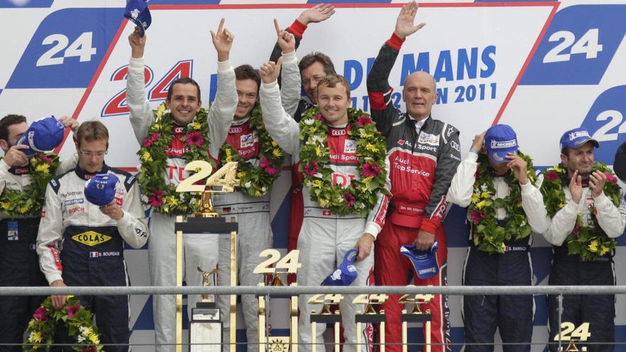 Audi wins again at Le Mans with R18 TDI  - spectacular crash [video]