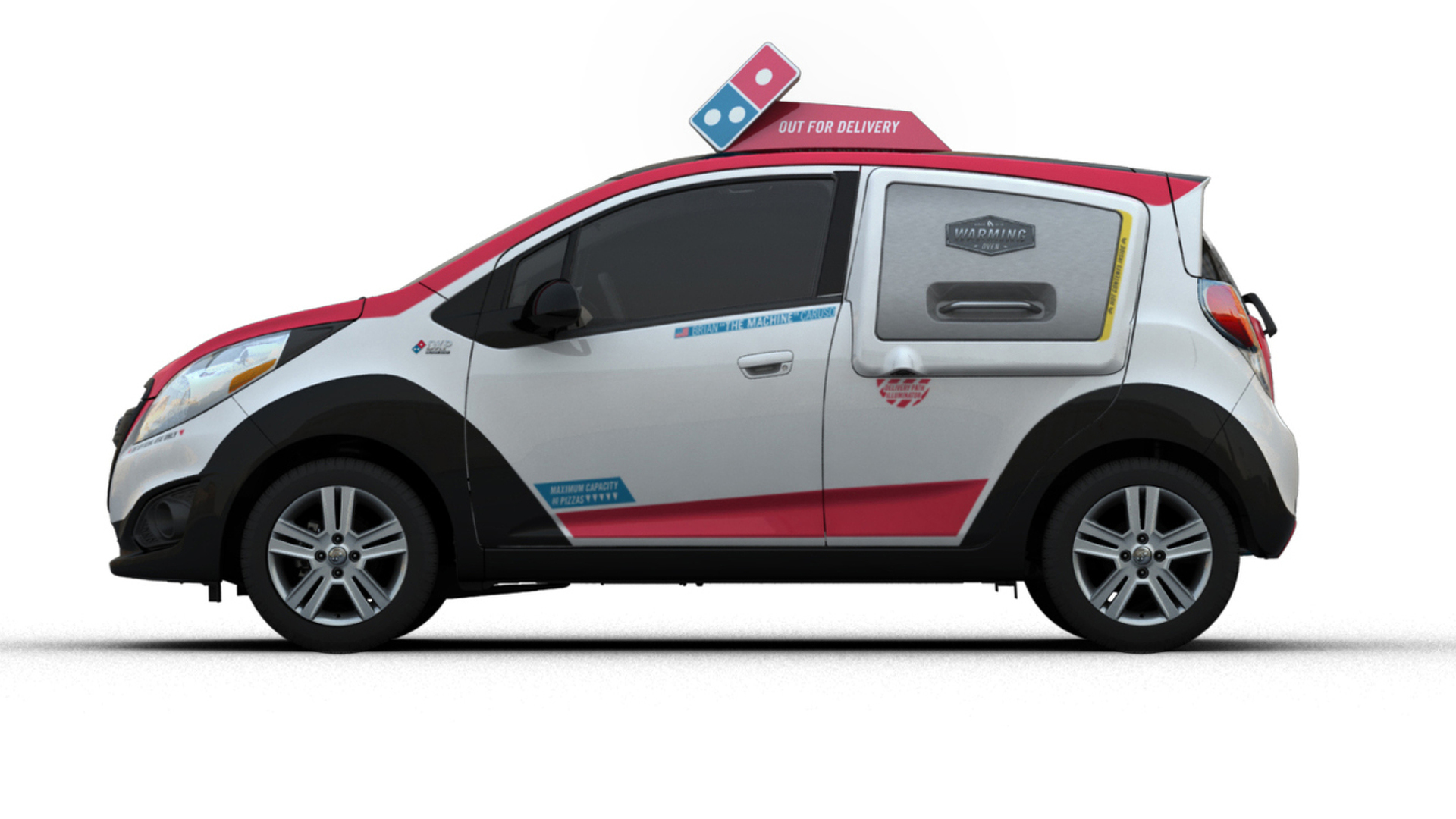 Chevrolet and Domino's unveil their custom DXP pizza delivery vehicle
