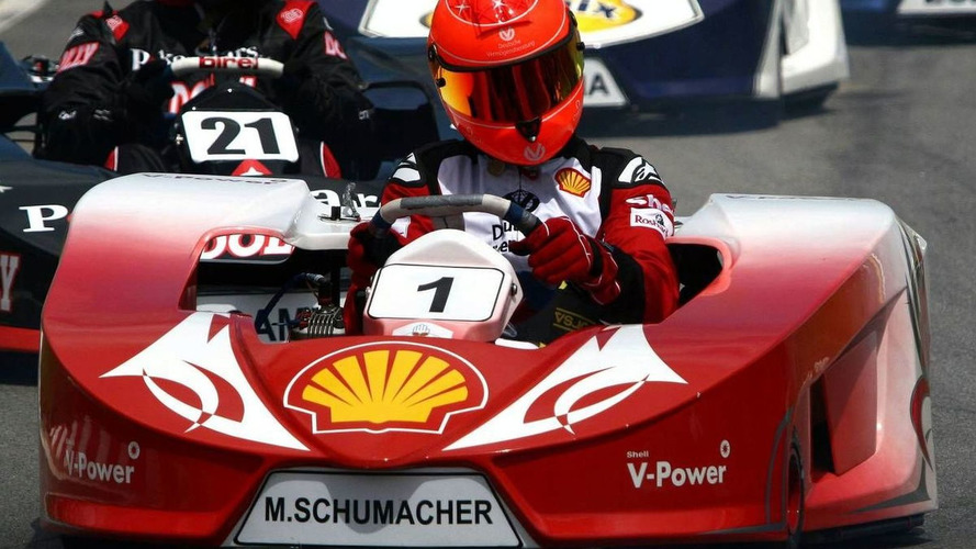 Schu on pole for kart races in Germany