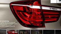 2011 BMW X3 teased in The Netherlands