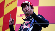 Webber happy to settle for second at Suzuka