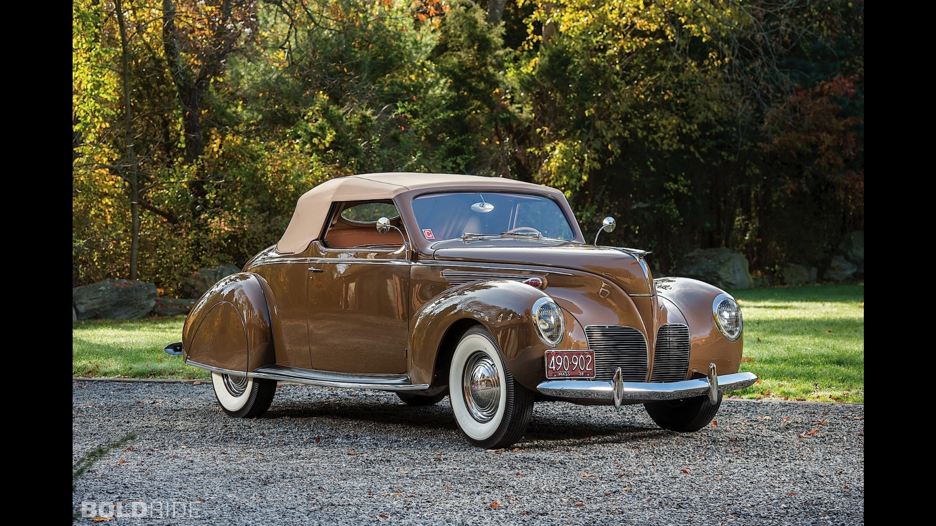 Lincoln Zephyr Convertible Coupe