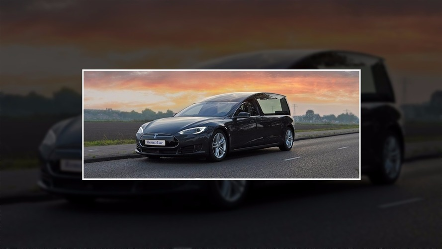 World's first Tesla hearse revealed