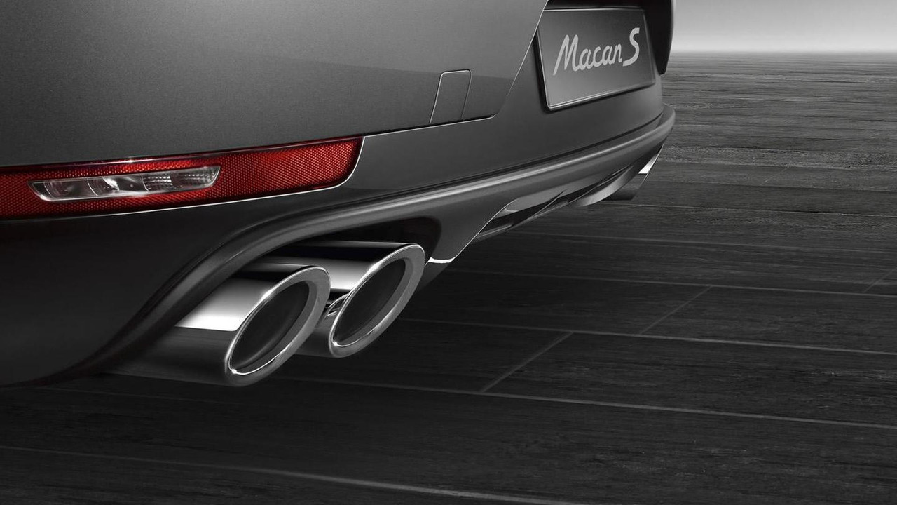 Porsche Exclusive exhaust for Macan S Diesel