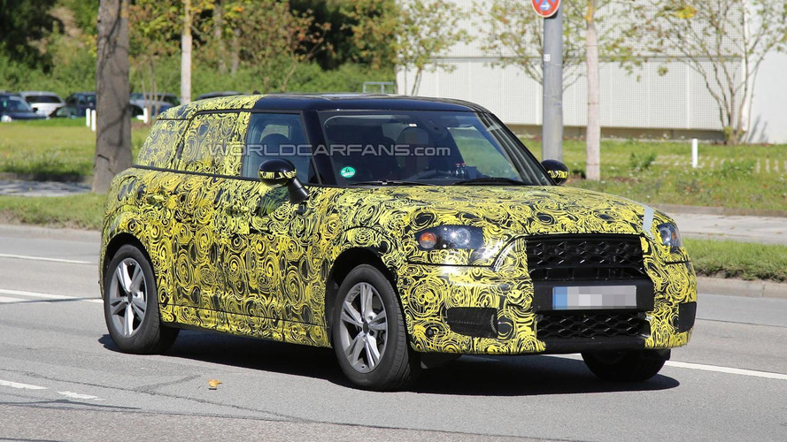 2017 MINI Countryman spied testing in Munich