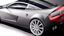 MG Project X120 sports car artist rendering - 800