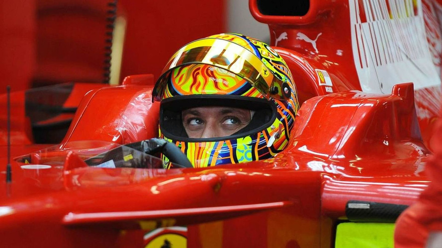 Rossi admits desire to race   third   Ferrari in F1