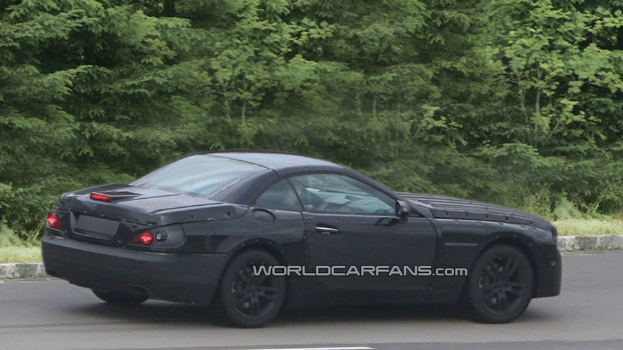 2013 Mercedes-Benz SL-Class Prototype First Spy Photos