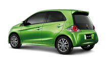Honda BRIO Prototype new small vehicle for Asia revealed