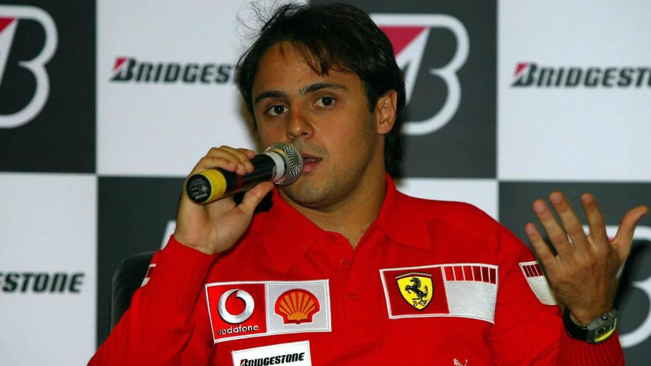 Bridgestone Press Conference - Felipe Massa (BRA), Scuderia Ferrari, Brazilian Grand Prix, 18.10.2006 Sao Paulo, Brazil