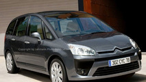 New Citroen Picasso II LWB illustration