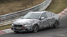 BMW 1-Series Sedan spied wearing less frontal disguise (20 pics)