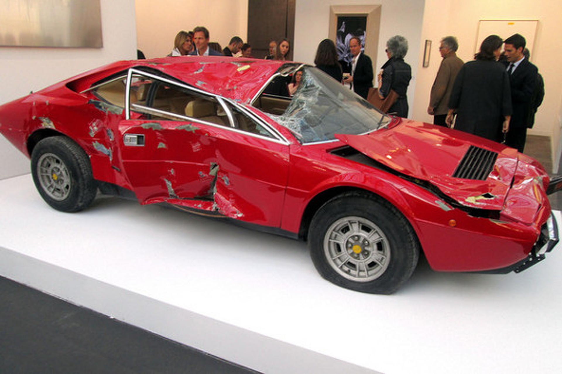 $250K For a Wrecked Ferrari: Welcome to the French Art World