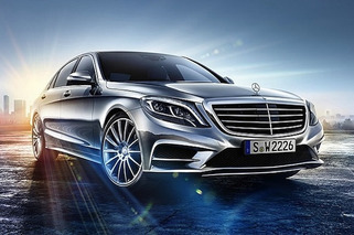 Here it is: 2014 Mercedes-Benz S-Class Leaked