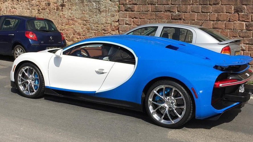 Bugatti seems to be testing Chiron in U.S. spec
