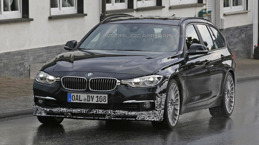 2016 Alpina D3 Bi-Turbo spied near the Ring