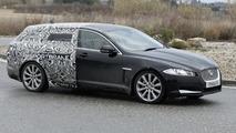 2012 Jaguar XF Sportbrake spied yet again
