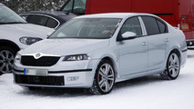 2013 Skoda Octavia RS sedan spied