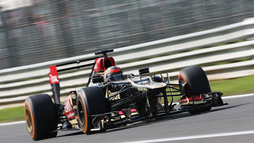 Only Raikkonen to drive longer Lotus at Monza
