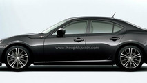 Subaru to blame for the lack of a Toyota 86 / Scion FR-S sedan - report
