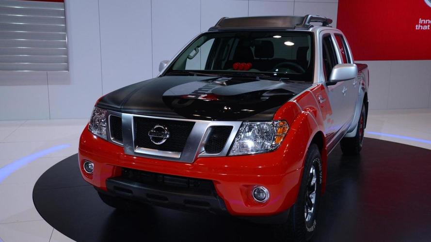 Nissan Frontier Diesel Runner concept bows in Chicago