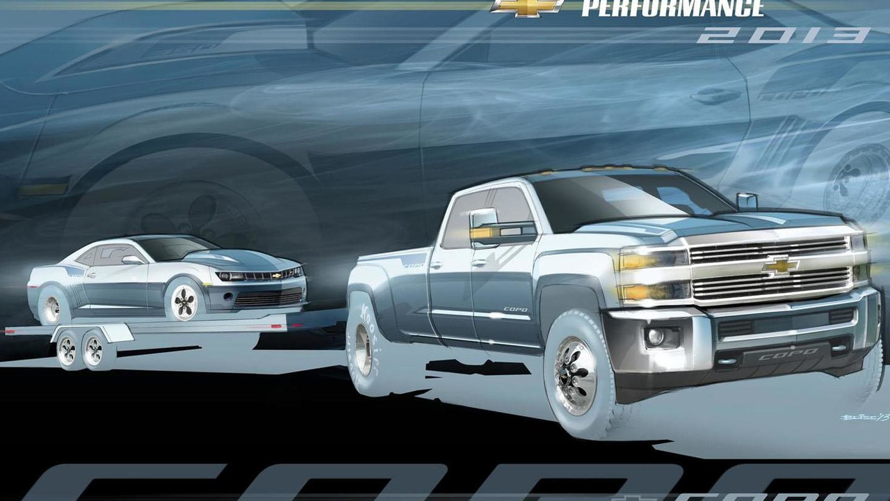 Chevrolet Silverado HD Dually tow vehicle 05.11.2013