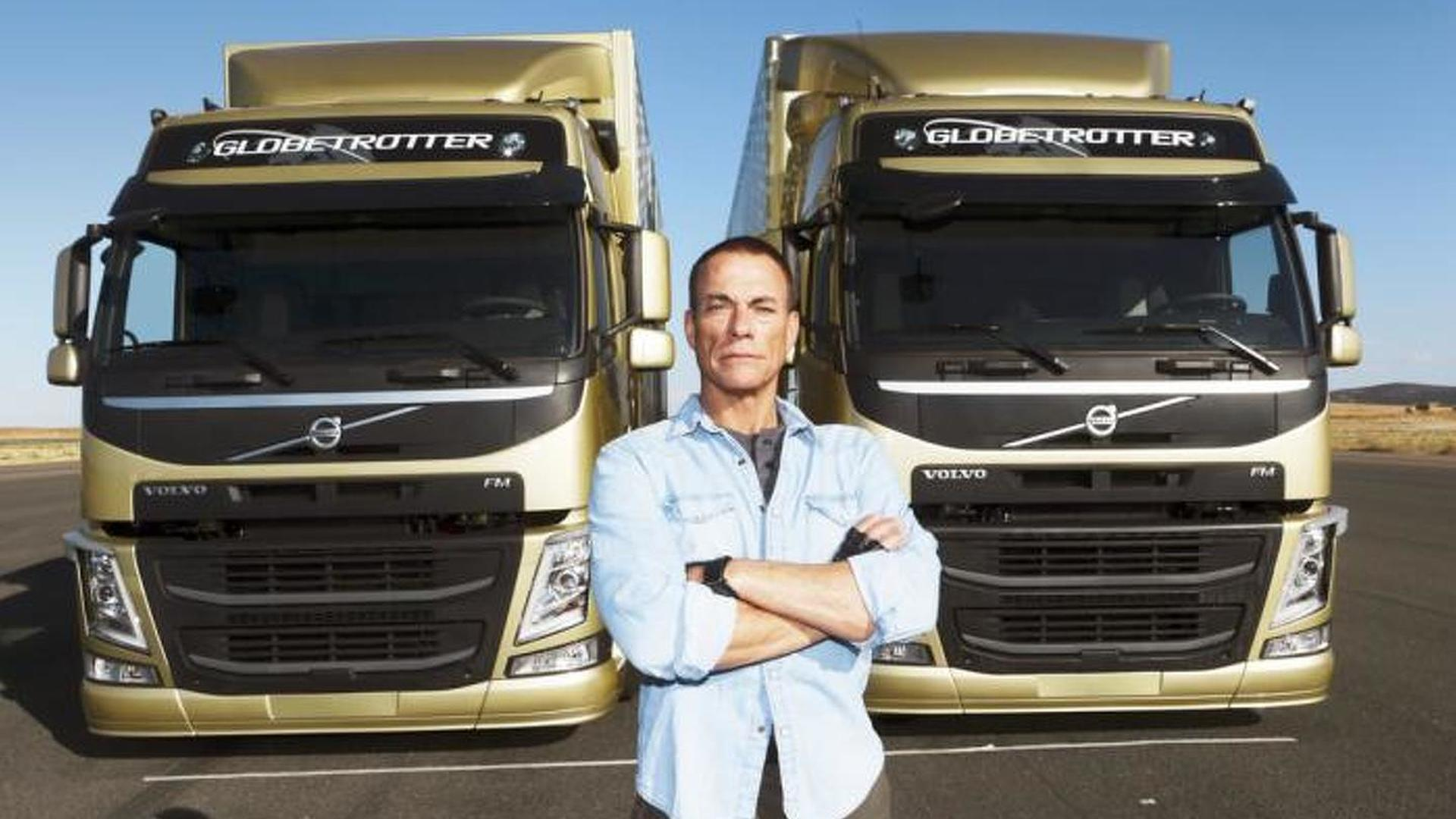 Jean Claude Van Damme performs epic split between two moving Volvo Trucks [video]