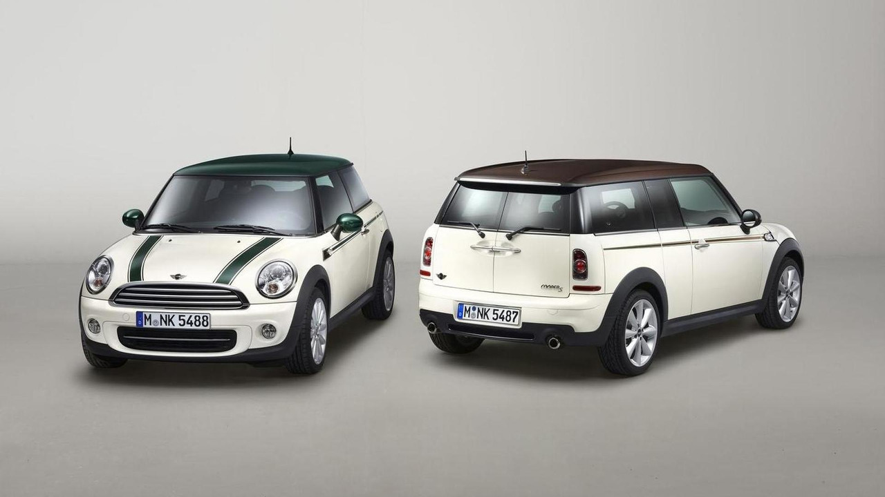 MINI Cooper Green Park and MINI Clubman Hyde Park - 19.4.2012