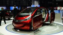 Tata Megapixel concept live in Geneva 06.03.2012