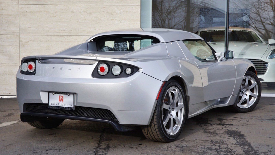 Would you pay $1M for this rare Tesla Roadster prototype?