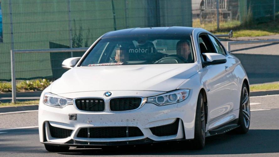 BMW M4 prototype spy photos