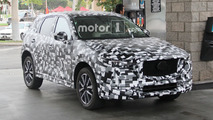 2018 Mazda CX-5 spied while getting gas