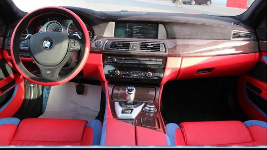 Hamann heavily modifies a BMW M5 [video]