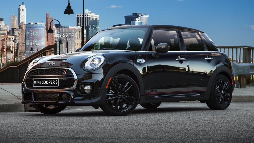 MINI Cooper S Carbon Edition launched with 208 HP
