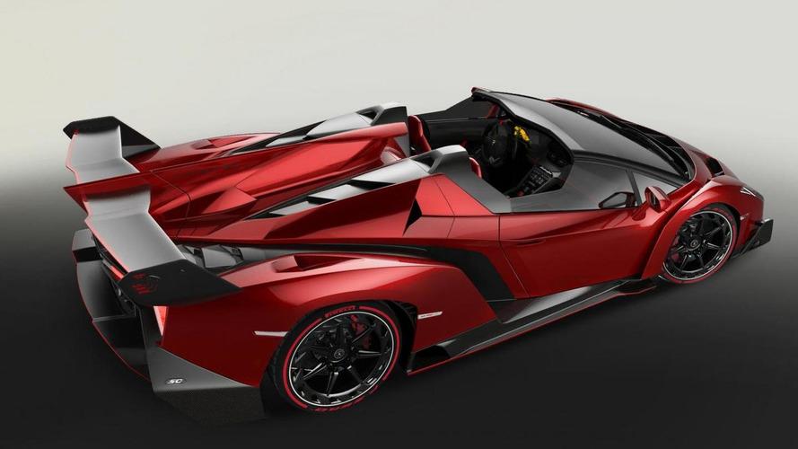 Lamborghini Veneno Roadster officially unleashed