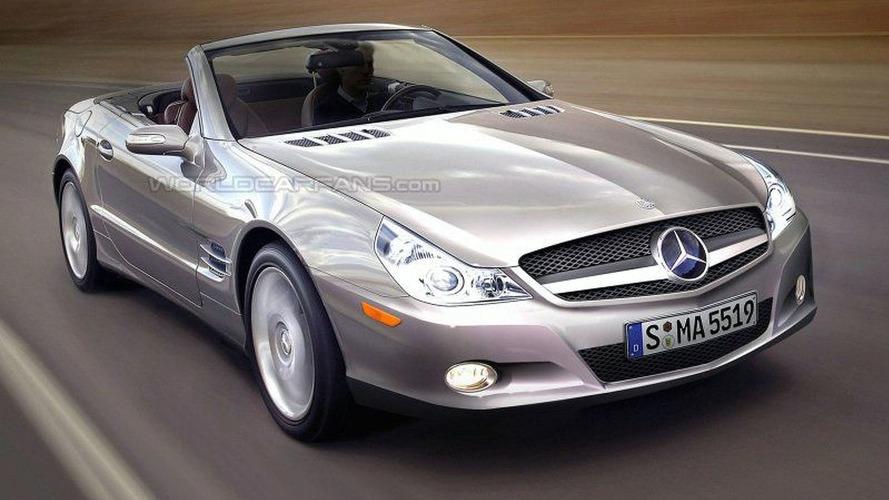 SPY PHOTOS: Latest Mercedes SL Major Facelift