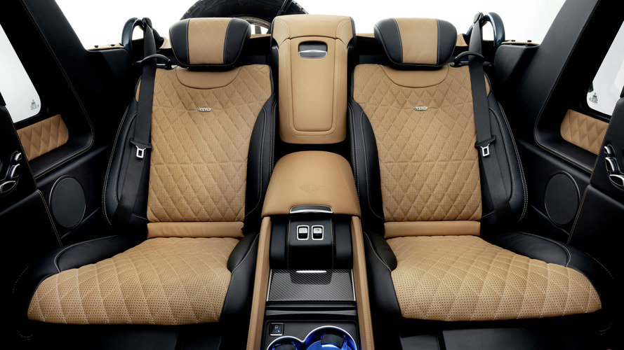 Mercedes Maybach G650 Landaulet Offers V12 Power S Class