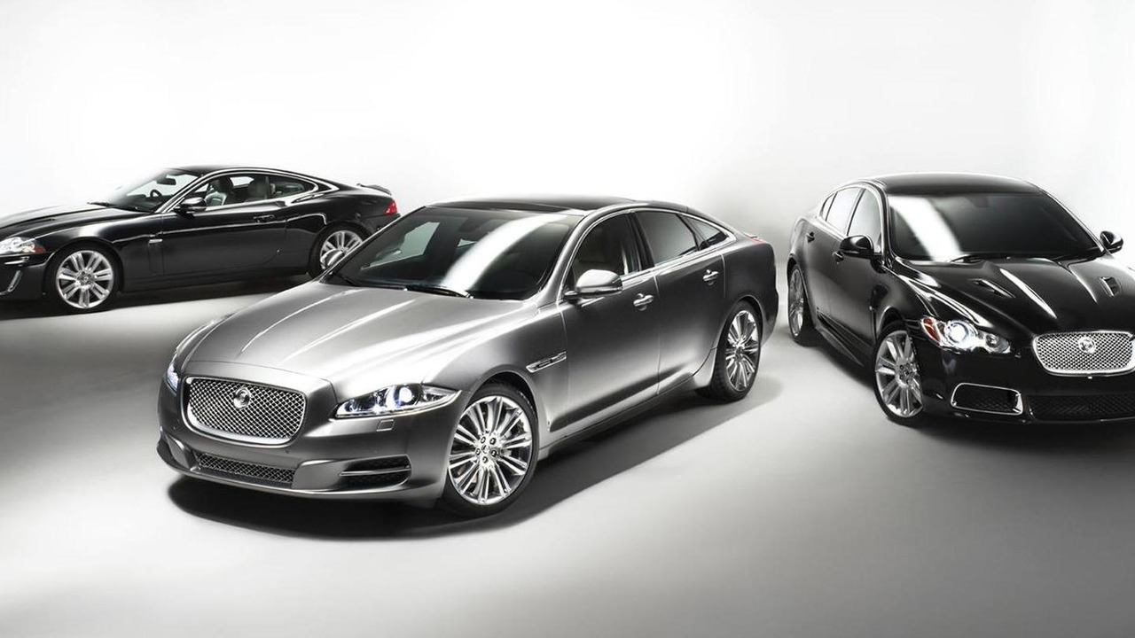Jaguar line up