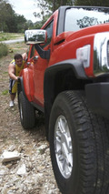 HUMMER Adds Muscle to 2008 OZ Strongman Contest