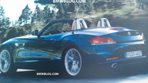 Leaked BMW Z4 Brochure Scan