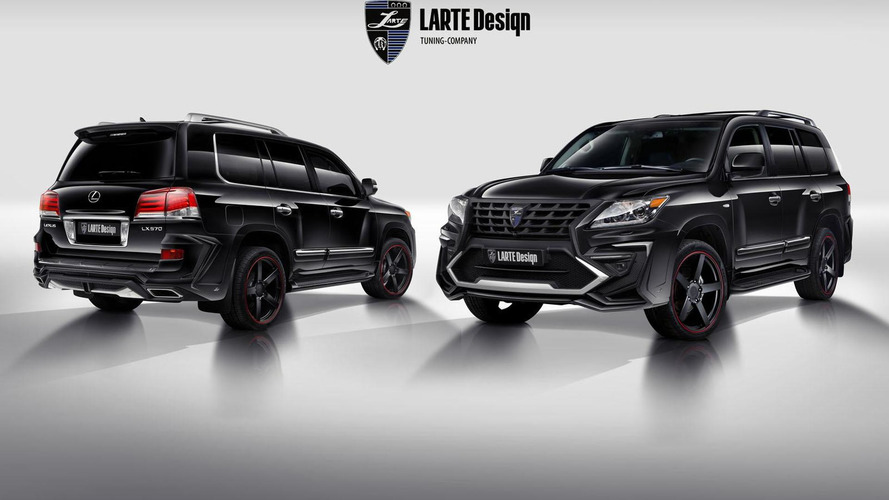 Larte gives the Lexus LX 570 an aggressive body kit